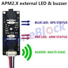 APM 2 8 APM 2 6 External LED Buzzer Indicator Sound and Light Quadcopter Multirotor font