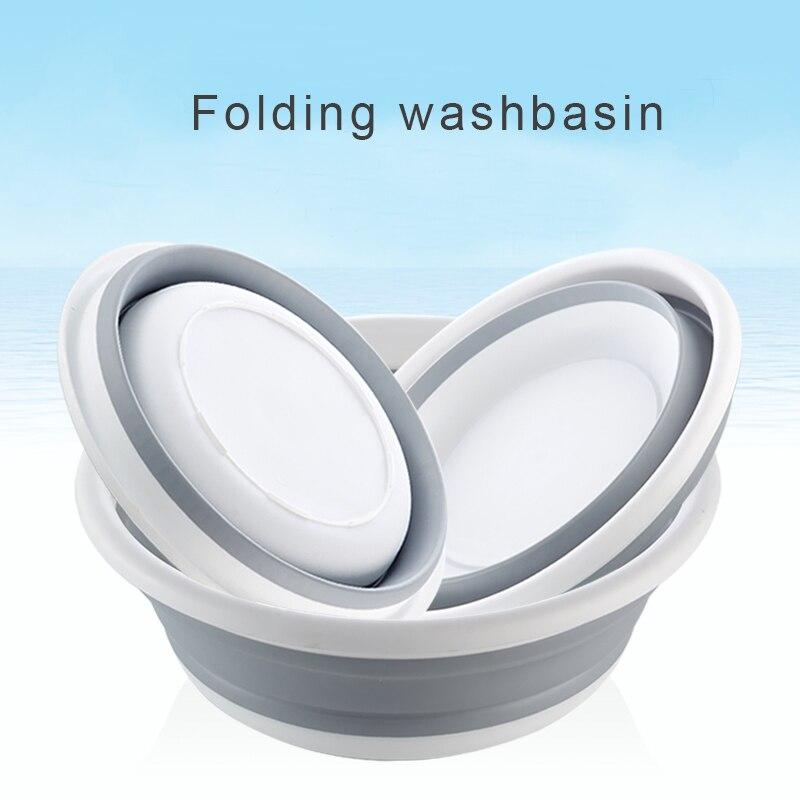 Nuovo multifunzionale conveniente lavabo pieghevole telescopica bolla bacino corsa esterna in silicone scatola di Lavaggio della cucina del bacino piatto