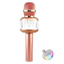Microphone Professional Wireless Handheld Karaoke Microphone Bluetooth Speakers Studio For Singing system Party KTV Amplifier
