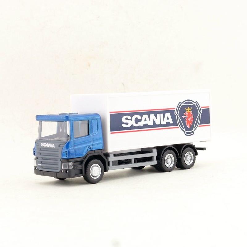 РМЗ город/литой игрушечный автомобиль модель/1: 64 Масштаб/SCANIA контейнеровоз тягач/автомобиль образовательная Коллекция/подарок для детей