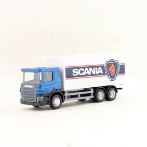 RMZ City/Diecast Toy Car Model/1:64 Scale/SCANIA Container Truck Tractor/Vehicle Educational Collection/Gift For Children(China)