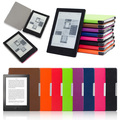 "99% Original Leather Cover Case For Kobo Aura H2O 6.8"" Ebook Ereader + Wake Up and Sleep + Screen Protector + Stylus Pen 8 Color"