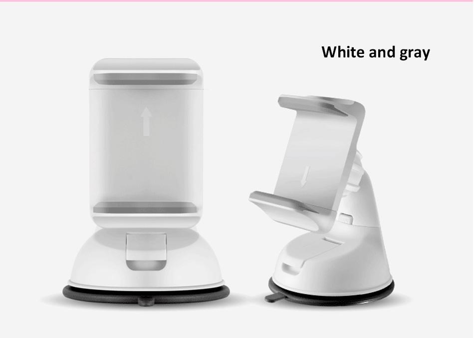 ESVNE Uniwersalny Telefon Samochodowy uchwyt szyby zamontować uchwyt na telefon komórkowy stojak uchwyt Samochodowy uchwyt na telefon Komórkowy Smartfon Telefon 18