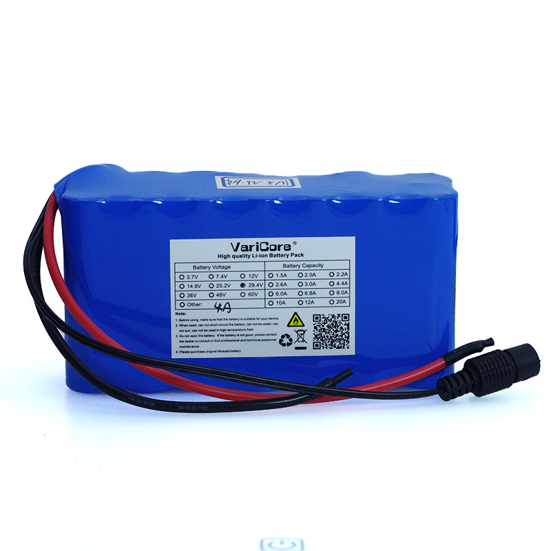 24V 4Ah 7S2P High Power 18650 <font><b>Battery</b></font> <font><b>li</b></font>-<font><b>ion</b></font> <font><b>battery</b></font> <font><b>29.4v</b></font> 4000mAh electric bicycle moped /electric/lithium <font><b>ion</b></font> <font><b>battery</b></font> pack image