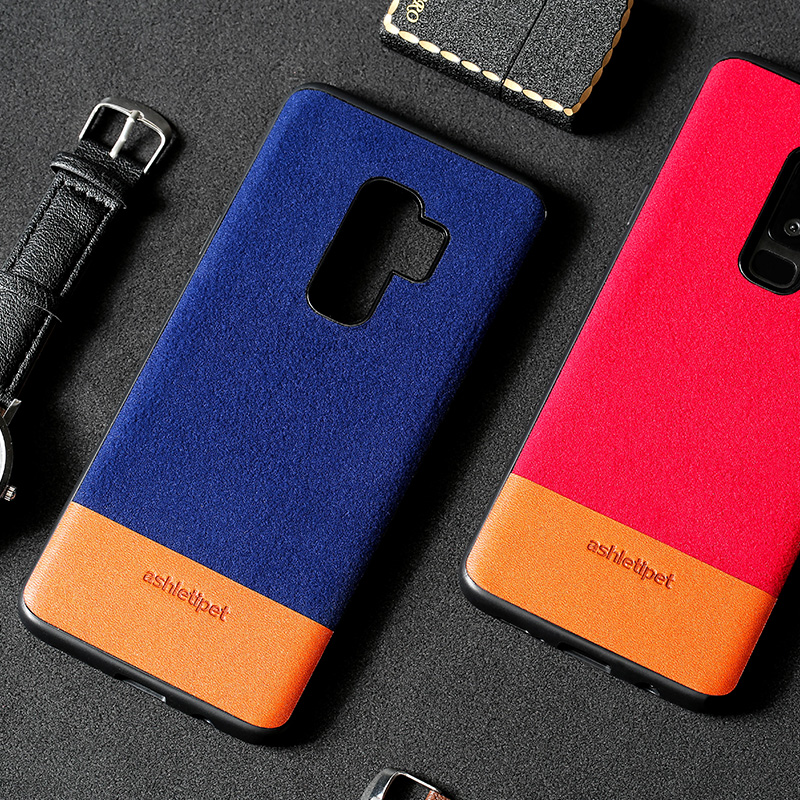 Genuine leather phone case For Samsung Galaxy S7 S8 S9 Plus Note 8 Case Back Cover For S7 Edge A5 A7 J3 J5 J7 2017 Cases