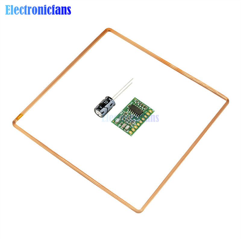 125K Id RFID Remote Mini Card Reader Module EM4100 <font><b>4001</b></font> TK4100 EM4305 3.5V to 6V 25mA Long Range Reader Module DIY kit image