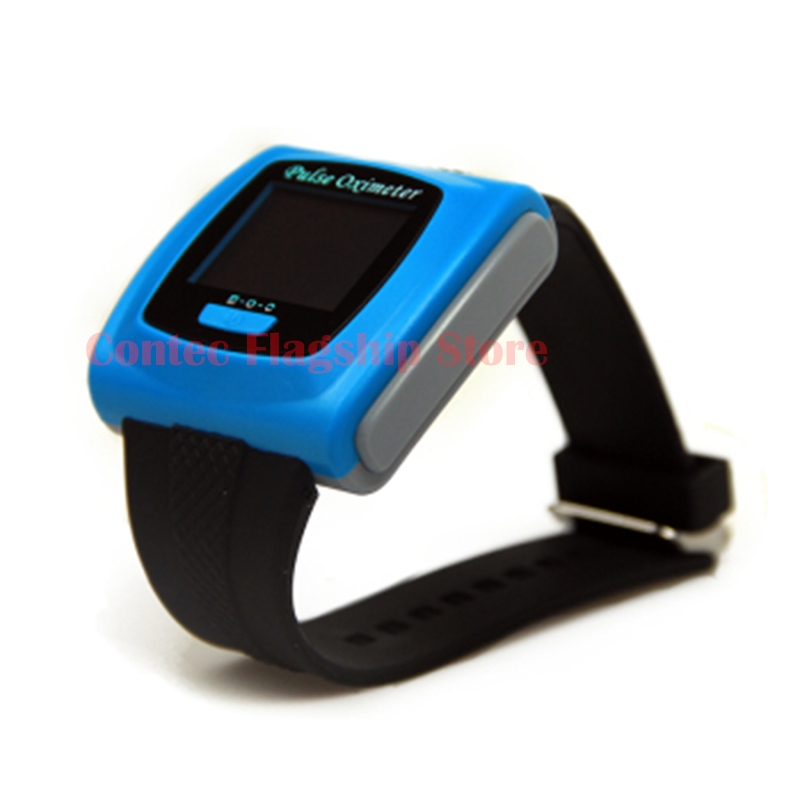 Wrist Pulse Oximeter Finger  FDA CMS50F Color  Tip SPO2 Pulse Monitor+PC Software oxygen saturation monitor Oximetro  saturometr color oled wrist fingertip pulse oximeter with software spo2 monitor