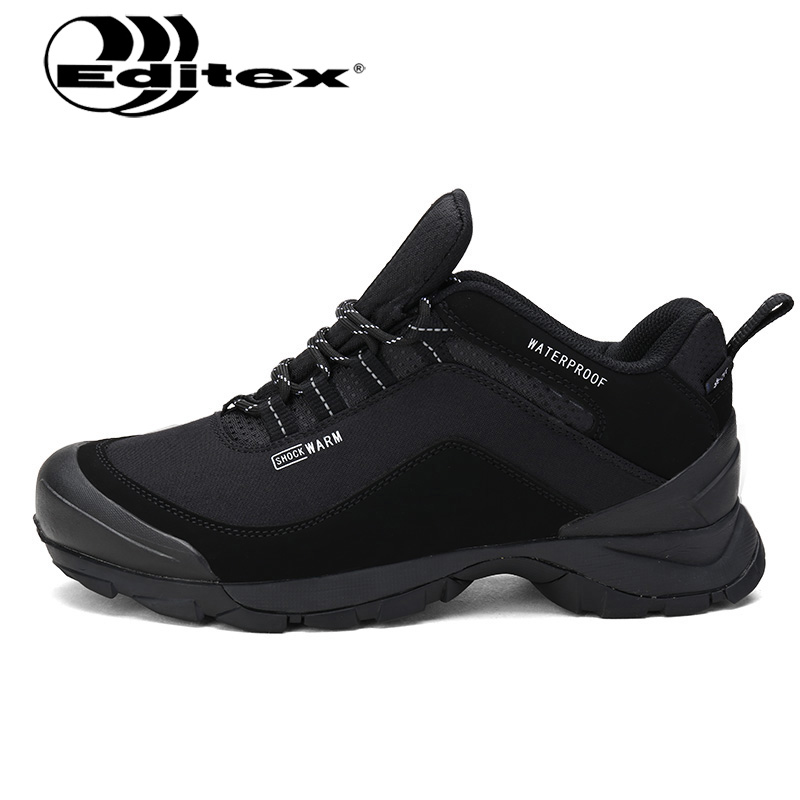 Editex 2017 outdoor hiking shoes Men hiking boots mountain shoes Men climbing walking sport shoes breathable Anti-skid sneakers