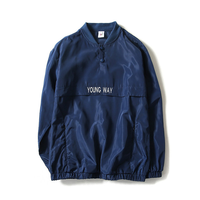 ebdb87b3662b Men s coat 2018 New reflective windbreaker Bomber Jacket Men Autumn Tide  Brand off white Jacket chaqueta
