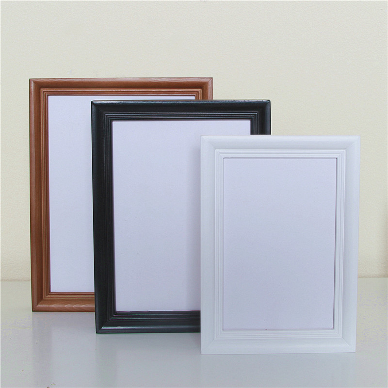 New modern diy home decor wooden photo frame wall hanging for Home frames wall art
