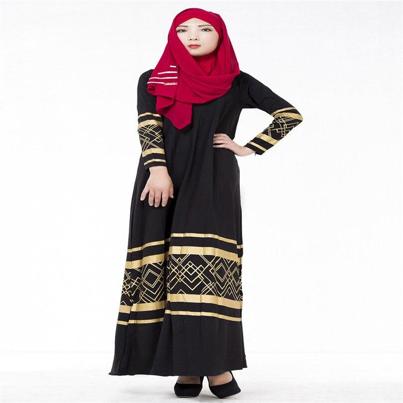 6a282af88 € 24.18 |2016 Real Ropa Mujer Ropa para mujeres musulmanas vestido Pictures  malasia Indonesia oriente medio moda Abaya árabe envío gratis en Ropa ...