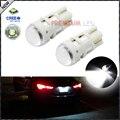 2 unids CRE'E XP-E T10 168 194 2825 W5W LED Blanco Del Xenón Bombillas de Repuesto Para Luces de la Matrícula Del Coche, Las Luces de estacionamiento