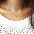 Disco oscila colar/choker colar de ouro/presente para ela para as mulheres xl231
