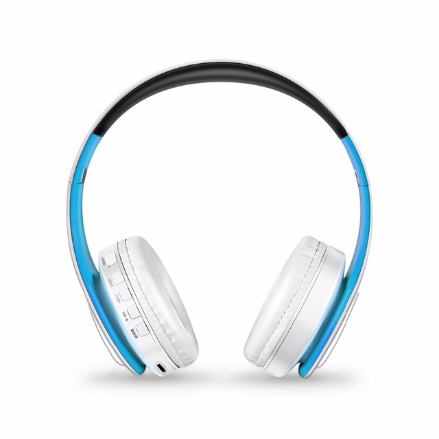 Bluetooth Wireless Headphones supports SD card With Mic Playtime 10 Hours