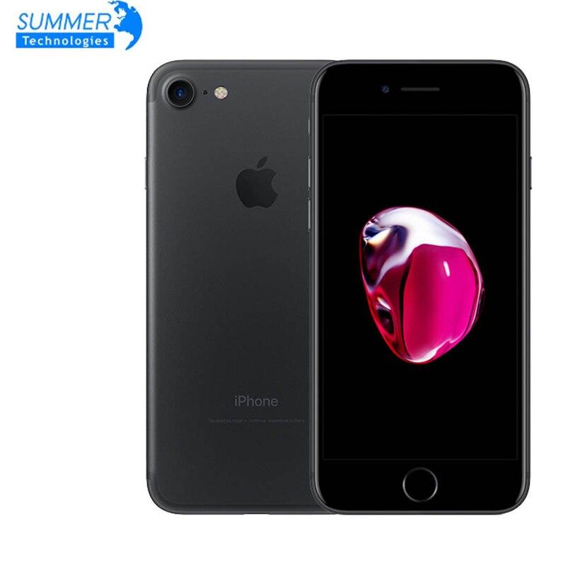 Фото. Отпечаток пальца 12MP оригинальный Apple мобильный телефон iphone 7 четырехъядерный 2 Гб ram 32/128
