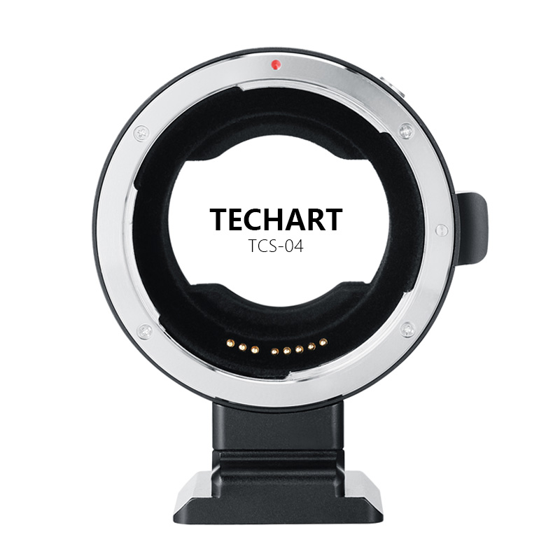 TECHART TCS-04 EOS-NEX 4 Adaptateur Pour canon EF Lens pour Pour Sony NEX A9 a7R3 a7R2 a7M3