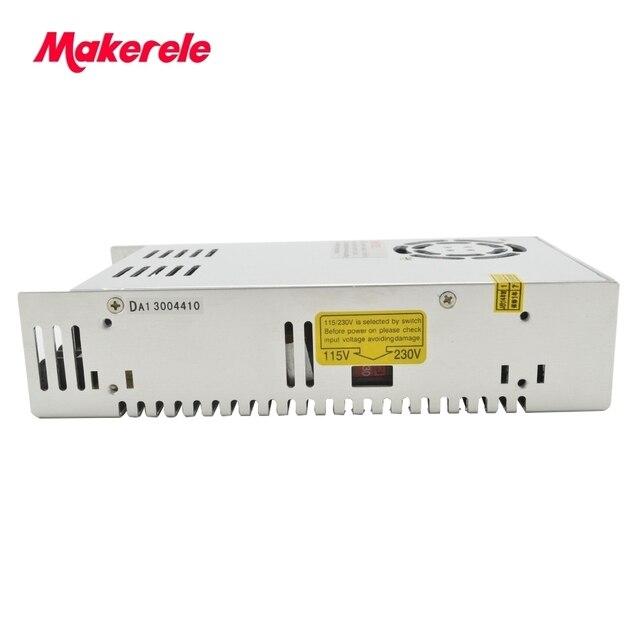 Fuente de alimentación de conmutación de 48 V voltios 350 W vatios ce listada envío gratis similar Meanwell NES-350-48 fuente de alimentación