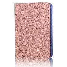 TRASSORY Ladies Cute Lavender Leather Passport Cover Holder Women Thin Fashion Travel Passport Leather Case