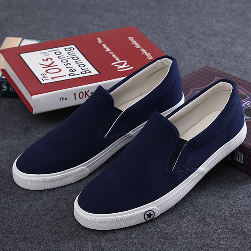 Aliexpress.com : Buy Fashion Vulcanized Canvas Shoes Cool Black ...