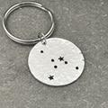Cancer  Constellation keychain,Cancer Sign Birthday Gift, Horoscope keychain, Astrology Jewelry,Zodiac keychain