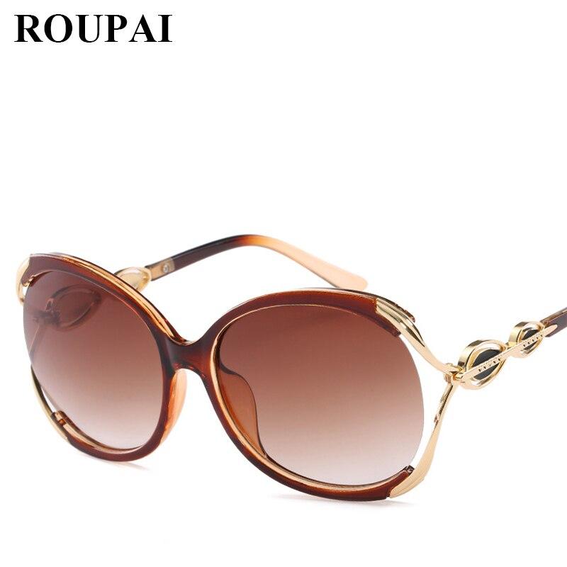 2018 New arrival moda óculos de sol Mulher HD óculos de sol retro senhora  oversize óculos de sol do vintage óculos anti-uv com moldura dourada 3d59ae1699