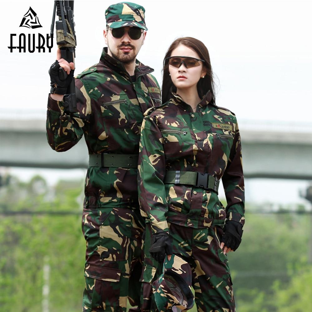... sobre Uniforme militar de las fuerzas especiales de camuflaje al aire  libre traje de entrenamiento CS DE COMBATE caza ropa de chaqueta de manga  larga + ... d2c499b2069