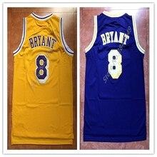 New Mens Kobe Bryant 8 Throwback Basketball Jersey US Size S-XXL Stitched  Best Quality 905ef8181