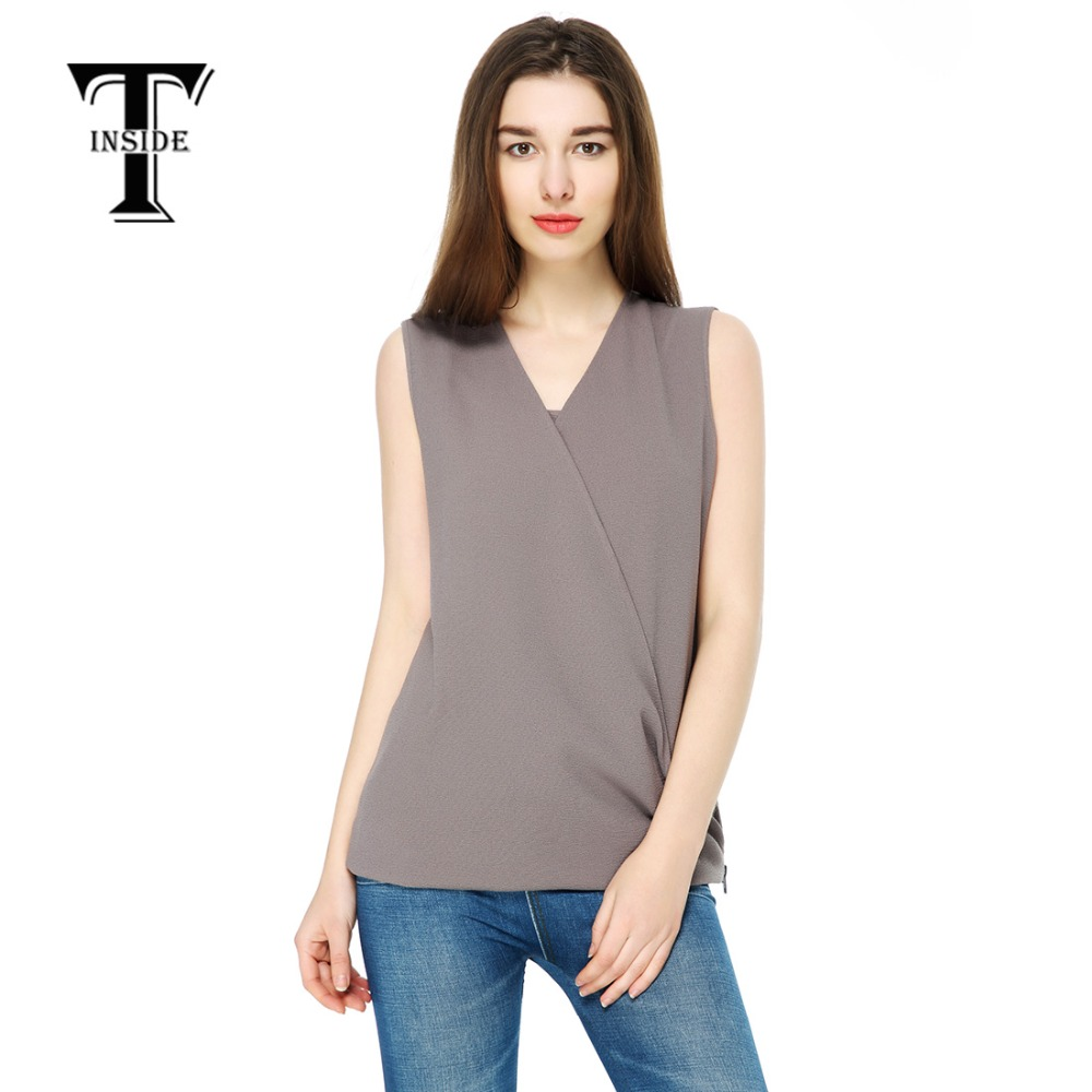 Desain t shirt elegan - Desain T Shirt Elegan T Dalam 2016 Musim Panas Merek Wanita Fashion Desain Elegan Blouse
