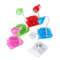 Mini kids led book light small Eye led reading light clip light portable led twisted table lamp creative gifts bedside lamp