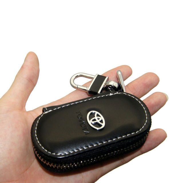 Leather Key Holder For Toyota Cars