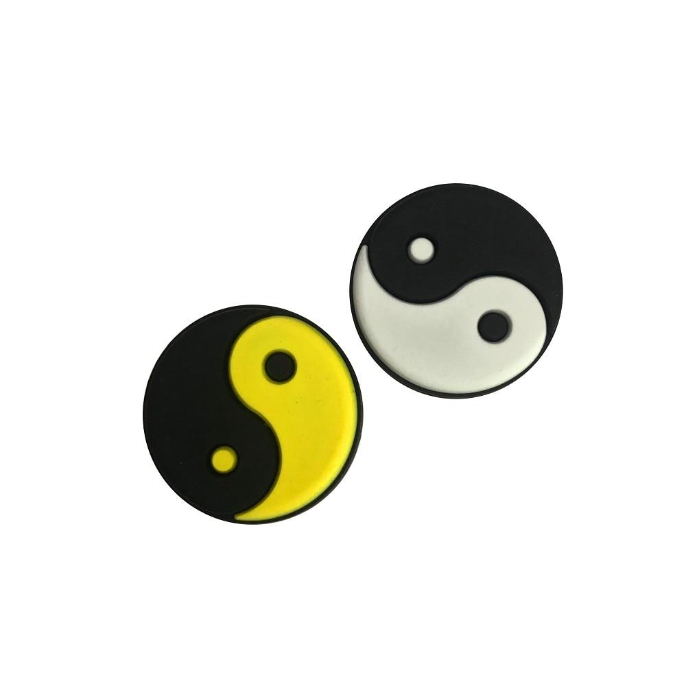 6pcs/lot Ying-yang Vibration Dampener/Tennis Racket Vibration Dampeners
