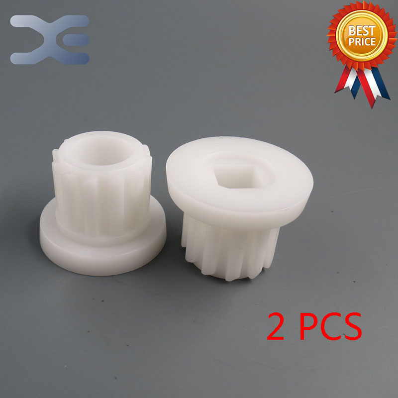 2Per Lot Meat Grinder Parts High Quality Plastic Gear Plastic Sleeve Screw For Bork Cameron2Per Lot Meat Grinder Parts High Quality Plastic Gear Plastic Sleeve Screw For Bork Cameron