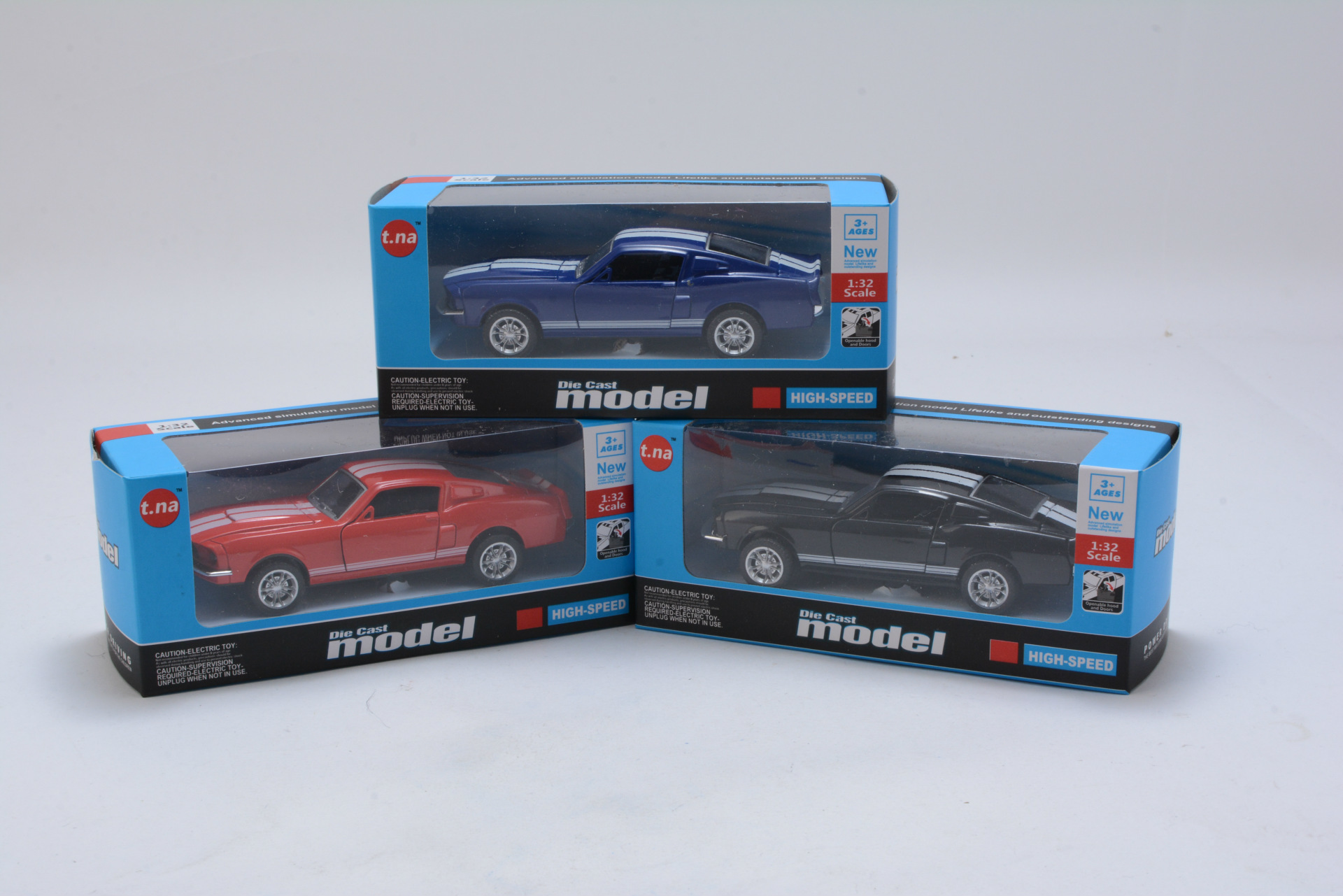 Ford Mustang GT 1967 GT500 Toy Car 13x5x35cm 10