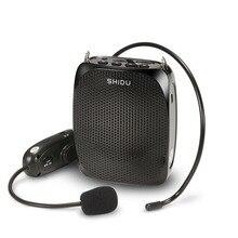 МегаФон беспроводной Magephone с микрофоном 10 Вт беспроводной голосовой усилитель с гарнитурой поясной шейный ремешок Зажим для ремня для учителя