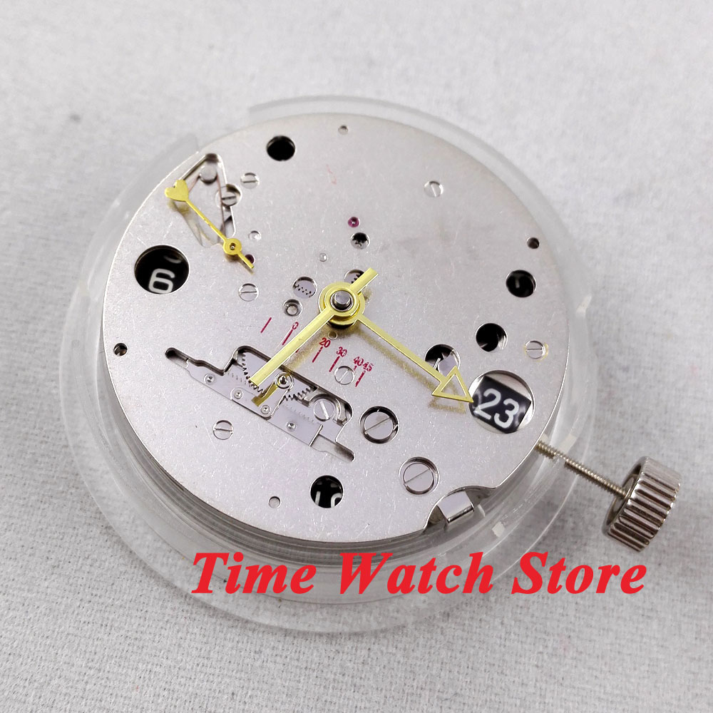 цена на small second date GMT power reserve mechanical automatic watch movement M9