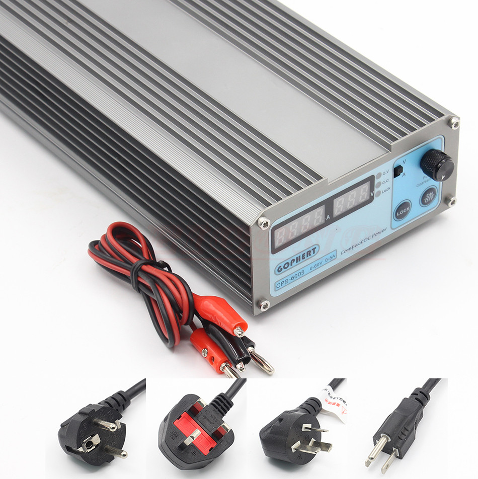 Mini CPS-6005 DC Power Supply adapter OVP/OCP/OTP low power 110V - 230V 0-60v 0-5A cps 6003 60v 3a dc high precision compact digital adjustable switching power supply ovp ocp otp low power 110v 220v