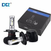2PCS H4 H7 H8 H11 9005 9006 CSP Auto Car LED Headlight 50W 8000LM Car Headlights