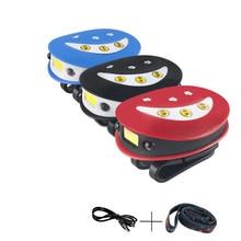 COB headlights mini portable head light outdoor camping home emergency rechargeable lamp intelligent sensor headlamp