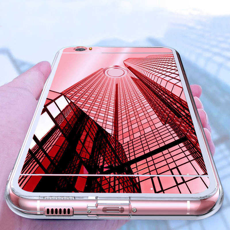 Чехол для Xiaomi Mi A2 Lite A1 8 6 5S MIX 2/2 S RedMi 3S 4A 4X 5A 6 Note 4/Note 5 Pro Prime глобальная версия плюс зеркало для макияжа из термопластика чехол