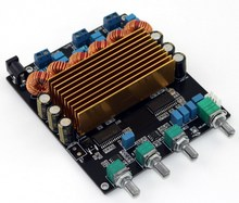 TC2001 STA508 2.1 Class D HIFI אודיו הדיגיטלי של מגבר מועצת 160 W + 80 W + 80 W