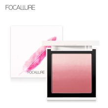 FOCALLURE Makeup Face blush Silky Cream color changer Powder Ombre Blusher Long-lasting Natural  Waterproof