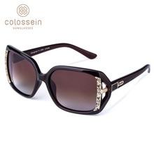 COLOSSEIN MSTAR النظارات الشمسية النساء الاستقطاب 2019 جديد نظارات شمس أنيقة فاخرة ضوء تدريجي لينة الكلاسيكية نظارات UV400