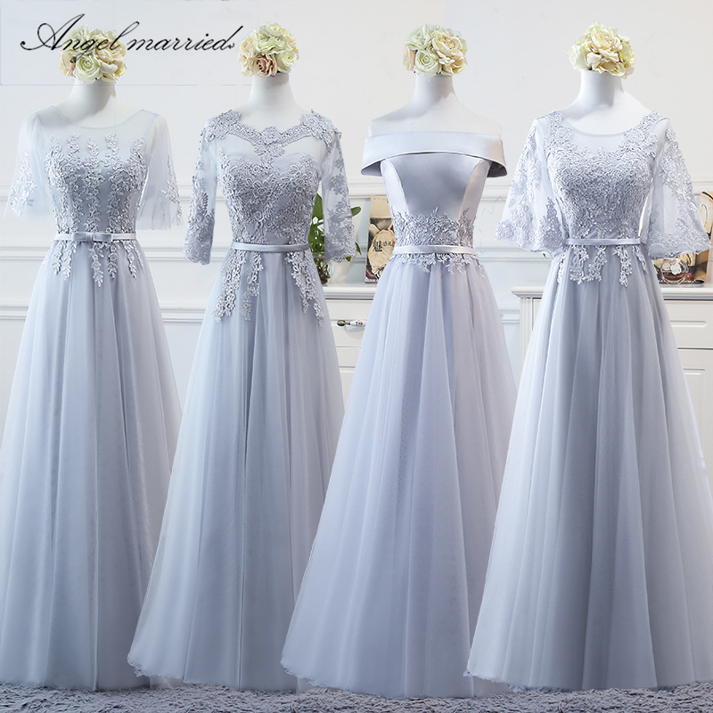 Angel Married Simple Bridesmaid Dresses A Line Junior