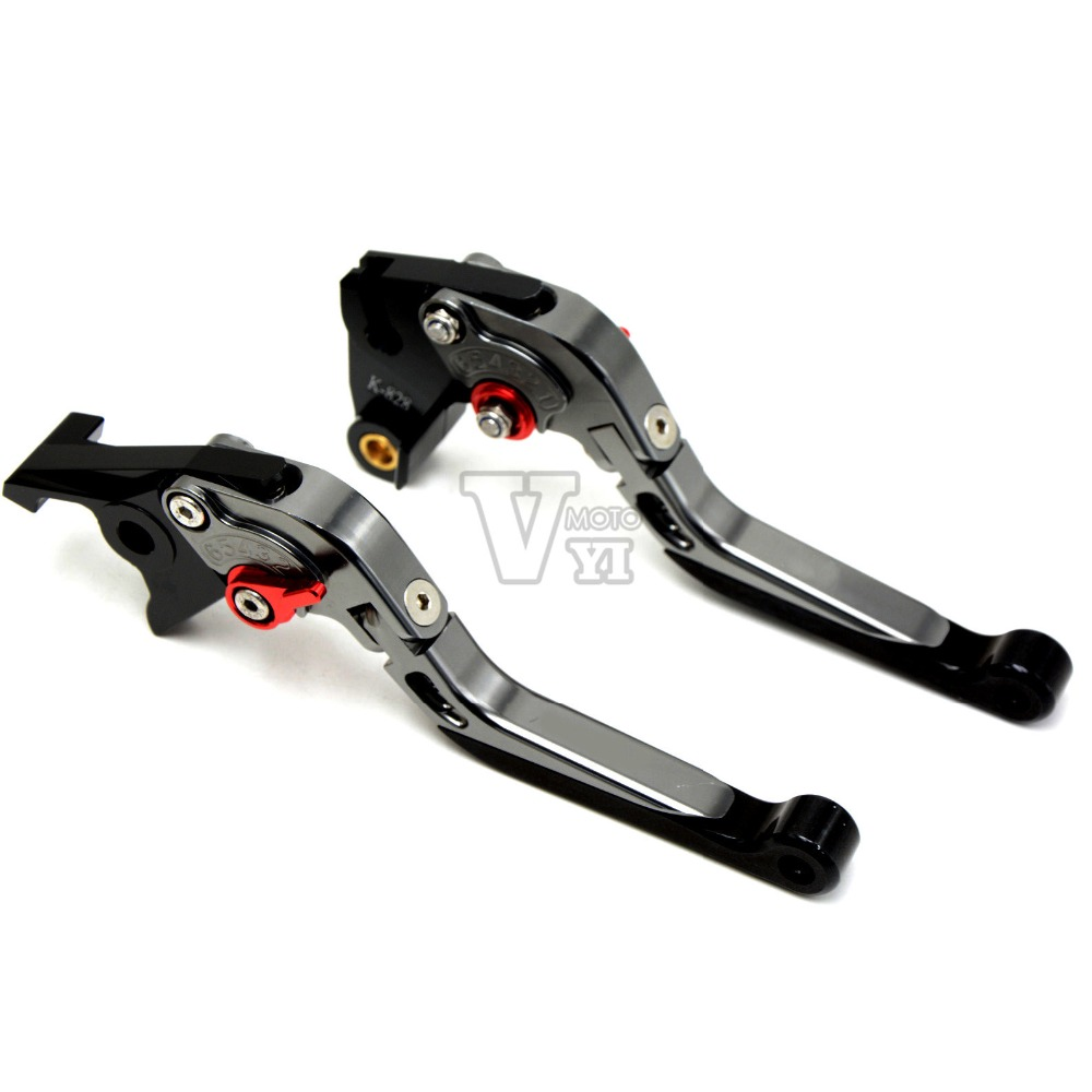 Motorcycle Adjustable Folding Extendable Brake Clutch Levers For HONDA CBR600F CBR 600 F4/F4i 1999-2007 CB600F/CB650F 2007 -2013 billet alu folding adjustable brake clutch levers for motoguzzi griso 850 breva 1100 norge 1200 06 2013 07 08 1200 sport stelvio
