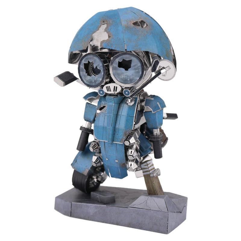 Le Dernier Chevalier Sqweeks Fun 3d En Métal Diy Miniature Modèle Kits Puzzle Jouets Enfants Garçon Épissage Hobby Bâtiment