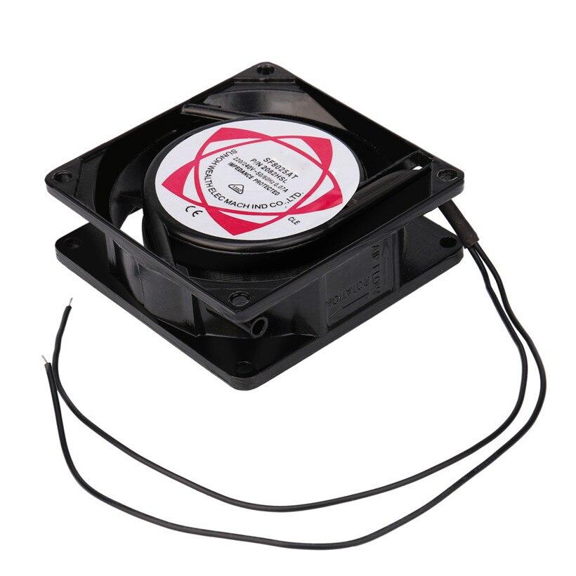 20V 240V 8cm 80mm x 80mm x 25mm AC Metal Brushless Cooling Industrial Fan drop shipping 0714 free shipping 8010 brushless fan 5v dc 0 26a 8cm 80mm 80x80x10mm fan xh2 54 2pin power supply cooling fan length 200mm