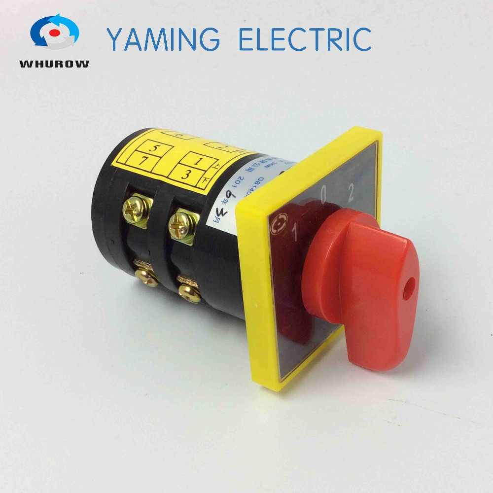 HZ5B-10/2 Changeover Cam switch forward off electric motor reversing switch generator transfer switch HZ5B series 10A