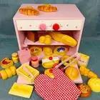 Деревянная игрушка ролевые игры игрушечная еда приготовления пищи моделирование деревянная посуда детская кухня фрукты овощи Магнитный м...