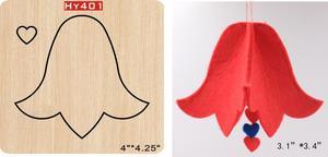 Image 1 - Vento campana Del Pendente di legno die Taglio Die Adatto per comune die taglio macchine nel mercato