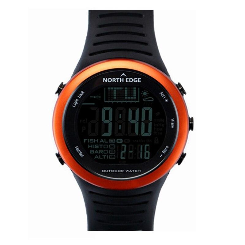Montre digitale Smart NorthEdge Étanche En Plein Air bonbon gélatineux Alarme horloge led montre électronique Intelligent montres-bracelets numériques